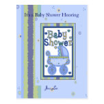 Baby Shower Boy Post Cards