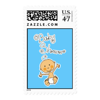 Baby Shower- Boy Postage