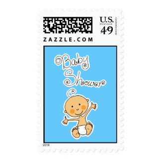 Baby Shower- Boy Stamp