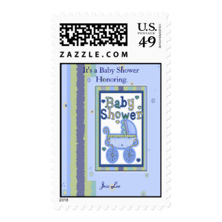 Baby Shower Boy Stamps