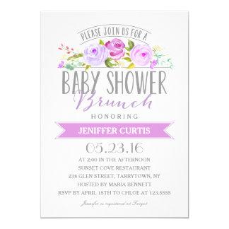 Baby Shower Brunch | Baby Shower Card