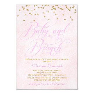 Baby Shower Brunch Invitations