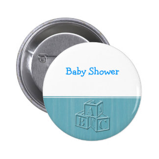Baby Shower Pinback Buttons