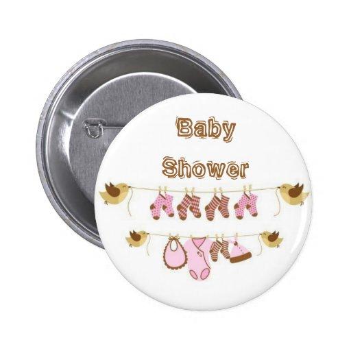 baby shower button zazzle