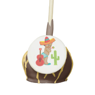 Baby Shower Cake Topper with Mexican Baby Cake Pops