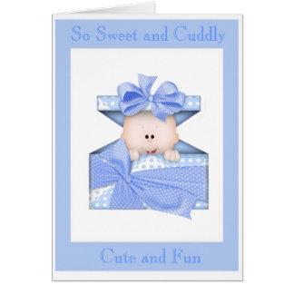 Baby Shower Card (Boy)