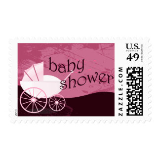 Baby Shower : carriage : Postage