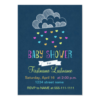 Baby Shower Cloud of Love Card