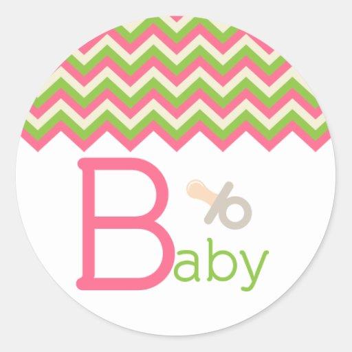 Baby Shower Cupcake Topper/Sticker