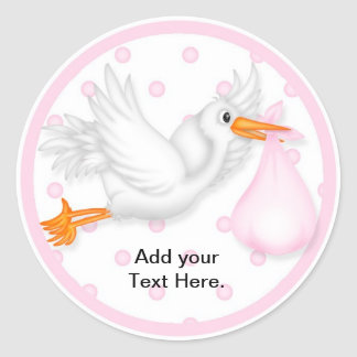 Baby Shower Cupcake Toppers Stickers
