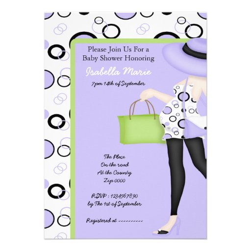baby shower custom invitation zazzle