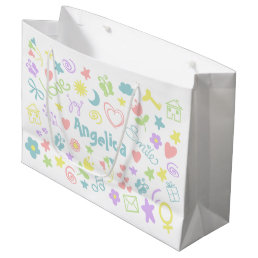 Baby Shower Cute Baby Girl Gift Bag