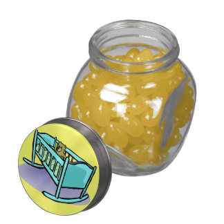 Baby Shower Cute Peace Love Party Destiny Jelly Belly Candy Jars