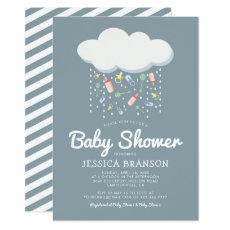 Baby Shower Cute Unisex Gender Neutral Invitation