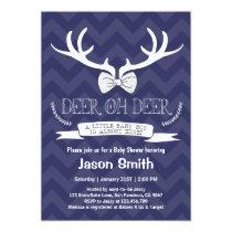 Baby Shower Deer Oh Deer Antler Invitation