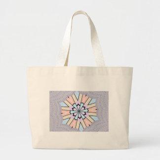 Baby shower design large tote bag