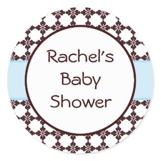 Baby Shower Envelope Seal sticker