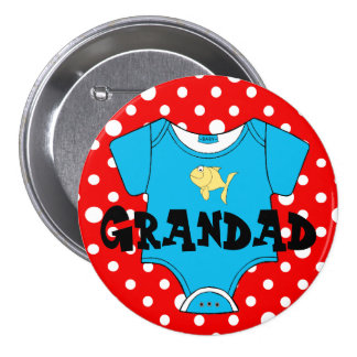 Baby Shower Family Names- Favor 3 Inch Round Button