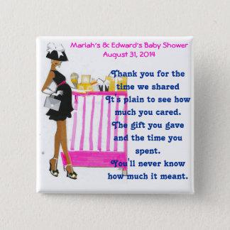 Baby Shower Favor Pinback Button