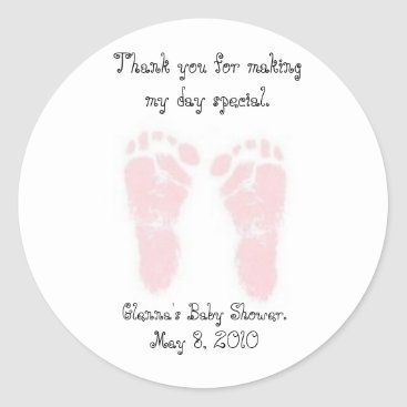 Toddler & Baby themed Baby Shower Favor Stickers