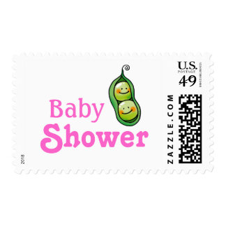 Baby shower for twin baby girls postage