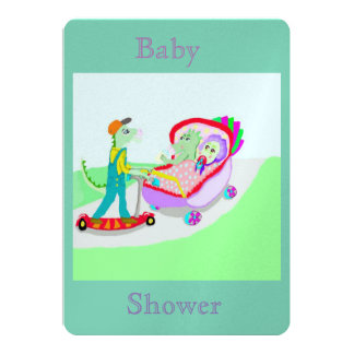 Baby Shower (For Twins) Card