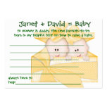 Baby Shower Game Helpful Hint Cards Business Card