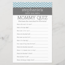 Baby Shower Game - Who Knows Mommy Best Quiz