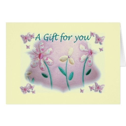 baby shower gift card zazzle