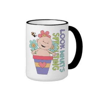 Baby-Shower Gift Ringer Mug