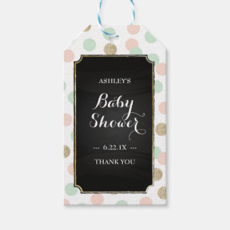 Baby Shower Gift Tags - Polka Dots