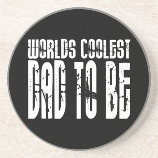 Baby Shower Gifts 4 Dads Worlds Coolest Dad to Be Drink Coaster