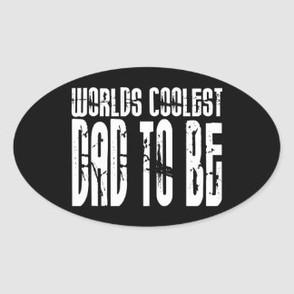 Baby Shower Gifts 4 Dads Worlds Coolest Dad to Be Sticker