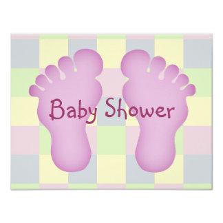 Baby Shower girl Custom Invitation