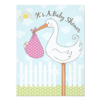 Baby Shower Girl Invitation