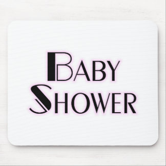 Baby Shower Girl Mouse Pad