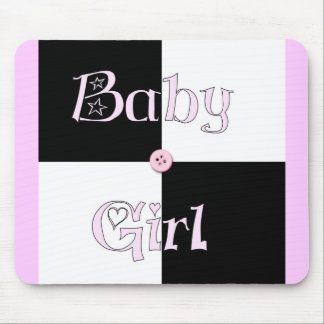 Baby Shower Girl Mouse Pads