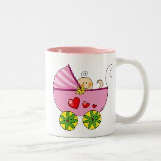Baby shower (girl) mug