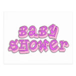 Baby Shower Girl Post Card