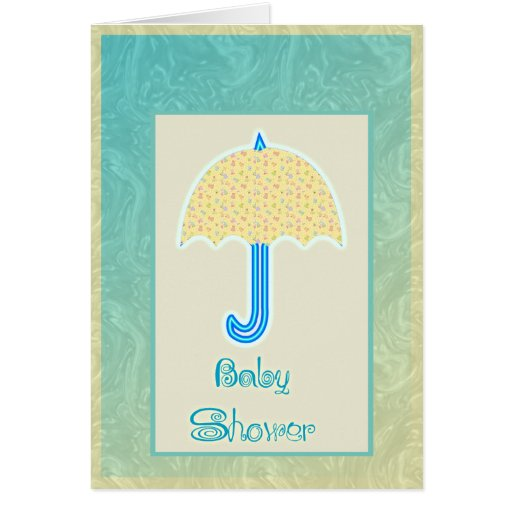 baby shower greeting card zazzle