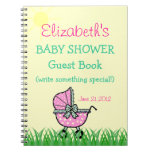 Baby Shower Guest Book Note Books
