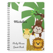 Baby Shower Guest Book Notebook