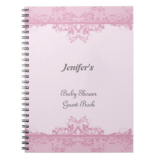how to make a baby shower guest book