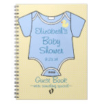 Baby Shower Guest Book- Spiral Note Book