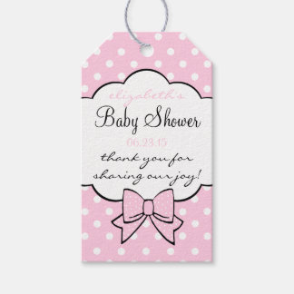 baby shower guest favor thank you gift tags