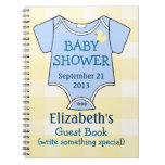 Baby Shower Guestbook Note Book