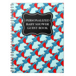 Baby shower guestbook | Personalized notebook