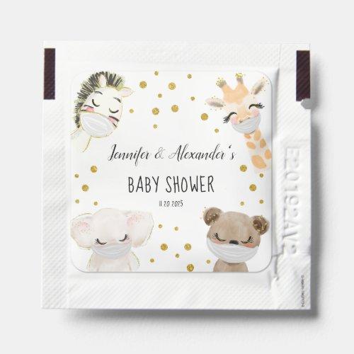 Baby Shower Hand Sanitizer Packet