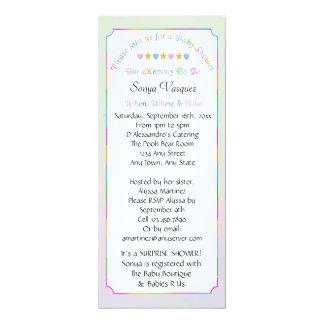 Baby Shower Hearts & Stars Invitation 2