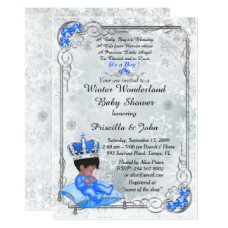 Baby Shower Honoring BOY,Prince Boy,Silver U0026amp; Blue.